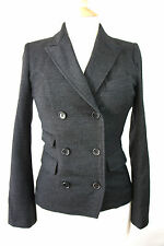 ISABEL MARANT WOOL DOUBLE BREASTED BLAZER JACKET, SIZE 0 XS