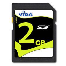 2GB SD Scheda Di Memoria per Canon PowerShot A 2000 IS / 2100 2200 2300 2400