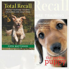 Perfect Puppy,Total Recall 2 Books Collection Set By Gwen Bailey&Pippa Mattinson