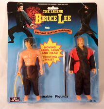 Rare Vintage Bruce Lee Largo Action Figures Double Pack MOC Kung Fu Mego Karate