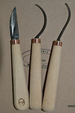 wood carving tools- spoon carving tools, hook, crook tools - Gilles, Lithuania
