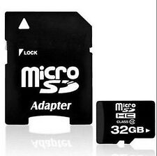 32GB Class 10 Micro SD Card TF Flash Memory Card MicroSDHC with Adapter AQ1