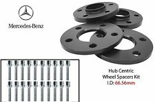 Mercedes 5x112 Wheel Spacers Kit 10mm & 12mm Fits: W210 E CLASS 1995-2001