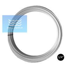 """GPC LLDPE Schlauch Weiß 1/4"""" Zoll für Umkehrosmose, Wasserfilter usw .."""