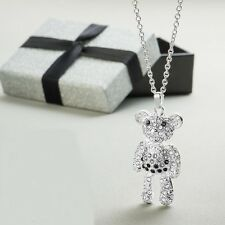 Avon Isabeau Bear Necklace NEW GIFT BOXED * Ideal Gift *  24 inch  Chain ~ SALE