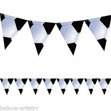 12ft Sports Football Soccer Party Childrens Pennant Banner Bunting