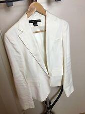 Ralph Lauren Black Label White Jacket Size 6