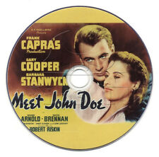 Meet John Doe (1941) Gary Cooper, Barbara Stanwyck Film/Movie DVD