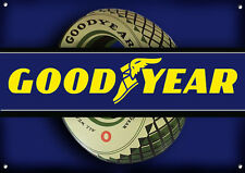 GOODYEAR TYRES  METAL SIGN,GARAGE SIGN,COLLECTABLE,WORKSHOP SIGN.