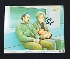 George Segal Authentic Autograph 8 x10 Movie Still from Born To Win