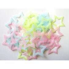 100pcs  Glow in Dark Stars DIY Luminous Wall Stickers for Kids Room Decor