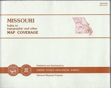 Missouri Map Index Topographic & Other Map Coverage Grid Name Scale Types 94 Fol