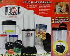 BIG SALE Magic Bullet Express Deluxe 26-pc Blender/Mixer Set, + Ice Shaver Blade