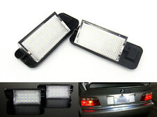 2x No Error 18 SMD LED for BMW License Plate Light Kit E36 3-series 325i 328i M3