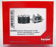 Herpa 053556 Zubehör Rollenpaket für 600 Tonnen Hakenflasche Liebherr Kran