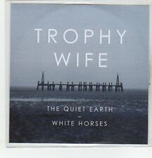 (ER924) Trophy Wife, The Quiet Earth - DJ CD