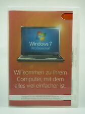 Microsoft Windows 7 Professional Pro 32 Bit Vollversion Deutsch