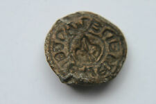 ENGLISH MEDIEVAL LEAD SEAL c. 13/15th CENTURY