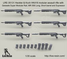 Live Resin LRE35131 1/35 Heckler &Koch HK416 Modular Assault Rifle Vol.4