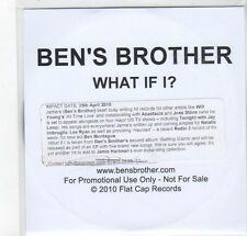 (GC967) Ben's Brother, What If I? - 2010 DJ CD