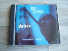 JOHN COLTRANE CD Blue Trane jazz bop *NR MINT*IMPROVISATIONS my favourite things