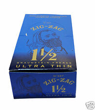 Zig Zag Ultra Thin 1 1/2 (1.50) CIGARETTE ROLLING PAPER 24 Booklet Packs