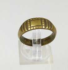 original alter Ring 1. WK aus französischen Münze, Gr. 58/Ø 18,5 mm  (da4446)