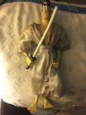 "Cartoon Network Samurai Jack Warrior 12"" Figure Loose Rare Nice Only On Display"