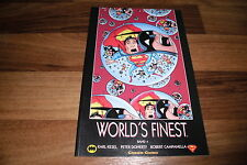 BATMAN & SUPERMAN -- WORLD`s FINEST  # 4 //  Carlsen, 1. Auflage 2000