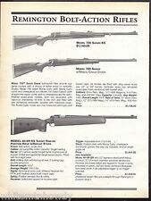 1999 REMINGTON 700 Safari, KS Bolt Action, 400-XTR KS Target Rimfire Rifle AD