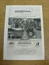 27/05/2006 Programme: Sports Tours - Camber Championship [In Kent] U8-U15 & U12/