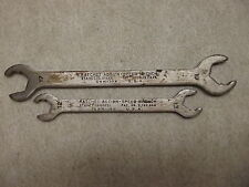 2 RATCHET ACTION SPEED METRIC WRENCH LOT SWM-102 & 104