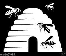 BEEKEEPER Bees Honey Beekeeping Decal Bumper Sticker Car Truck Farmer Cute