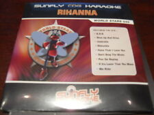 SUNFLY WORLD STARS KARAOKE DISC SFWS045 RIHANNA CD+G SEALED 14 TRACKS