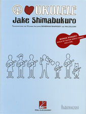 Peace Love Ukulele Jake Shimabukuro TAB Music Book