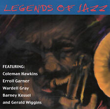 LEGENDS OF JAZZ - 9 TRACK MUSIC CD - BRAND NEW - G221
