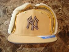 NEW YORK YANKEES TRAPPER    NEWERRA DEADSTOCK  cap hat FITTED  VINTAGE SZ 6 3/4