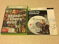 Grand Theft Auto IV *with map* - Microsoft Xbox 360 Game