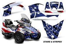 AMR Racing Can Am BRP RT-S Spyder Full Trim Kit Wrap Roadster Decals 2014+ USA