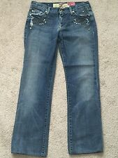 7 For All Mankind Woman's Jeans Great Wall Of China Vintage Wash Embellish SZ 30