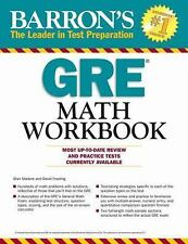 NEW - Barron's GRE Math Workbook, 3rd Edition