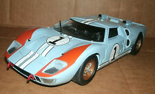 1/18 Ford GT40 MkII Diecast Model - 1966 LeMans Race Car #1 Universal Hobbies