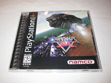 Xevious 3D/G+ (PlayStation PS1) Black Label Game Complete Nr Mint!