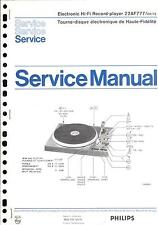 Philips Original Service Manual für 22 AF 777