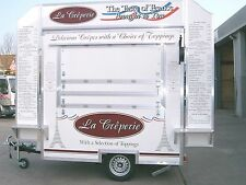10 ft Crepe Mobile Catering Trailer for sale / Catering Van / Street Food