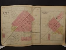 Illinois, Montgomery County Map, 1912, Irving, Raymond, Double Page, L1#63