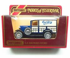 * 1980s * Matchbox Yesteryear * 1930 Model A Ford Woody * Carters * Y-21 * MIB
