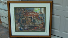 """CHARLES WYSOCKI LIMITED EDITION 1982/15000""""REMINGTON THE HORTICULTURIST"""" PRINT#1"""