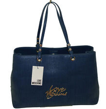 Borsa Love Moschino SHOPPING  JC4085  women calf pu logata BLU