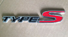 New High Quality Metal 3D TYPE S TYPES Chrome Emblem Logo Trunk Badge STICKER